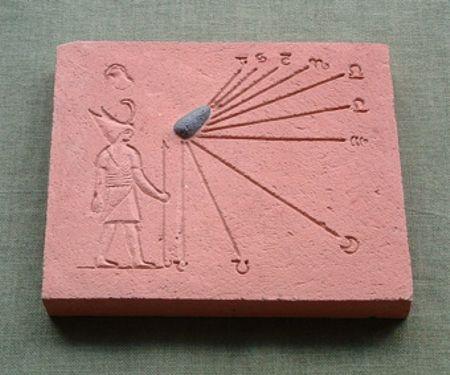 Reproducción reloj solar Zeus
