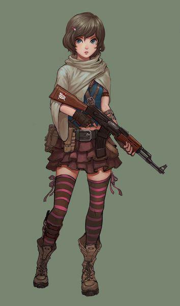 girl's troop 3