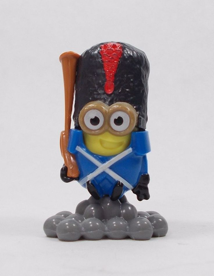 "Minions - Mini Figure A - 2"" - Kinder Surprise"
