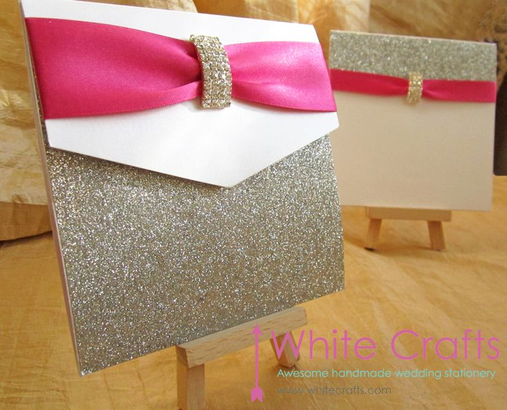 Winter sparkle sliver glitter and pink wedding invitation www.whitecrafts.com Invitations | White Crafts #winterweddingideas #winterweddinginvitation #winterweddinginvitationideas #pinkwedding #hotpinkwedding #weddinginvitations #weddinginvitationideas #weddingcards #silverwedding #luxurywedding #luxuryweddinginvitations