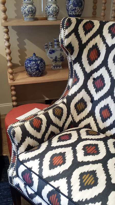 Meredith Heron for JF Fabrics - WESLEY HALL - Hamilton-Wrenn District #HPMKT