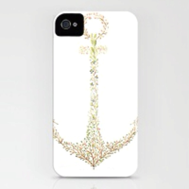 Glitzy Anchor Phone Case