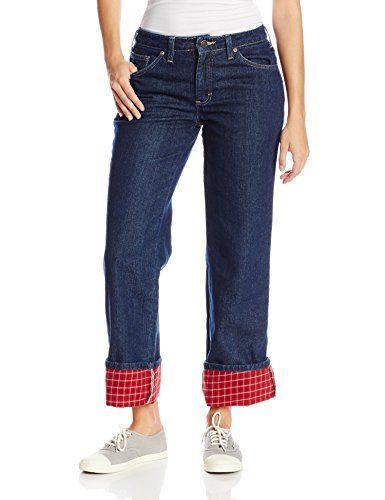 Dickies Women's Flannel Lined Jean - http://www.darrenblogs.com/2016/12/dickies-womens-flannel-lined-jean/