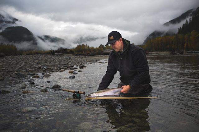 Right place right time. Come fish with our guides and learn more about where and when you need to be on the water. #flyfishing #catchandrelease #salmon #explore #vancouver #gooutside #adventure #fishing