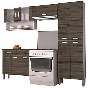 Parana kit mueble cocina quartz puertas for Muebles de cocina kit completos