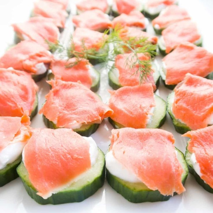 This smoked salmon platter of cucumber bites is the perfect app for any occasion. Can't go wrong with this easy smoked salmon appetizer recipe!