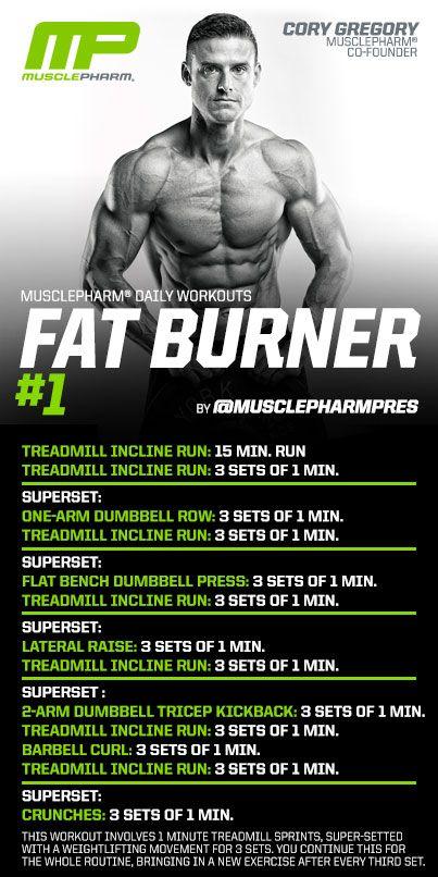 Fat Burner #1    Schede allenamenti palestra www.technonutrition.it