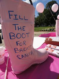 Breast Cancer Fundraising Challenges are some of the best ideas you could use to raise funds for Breast Cancer awareness and treatment. CLICK the image to find out more. (Photo by Maurer Foundation / Flickr.com)