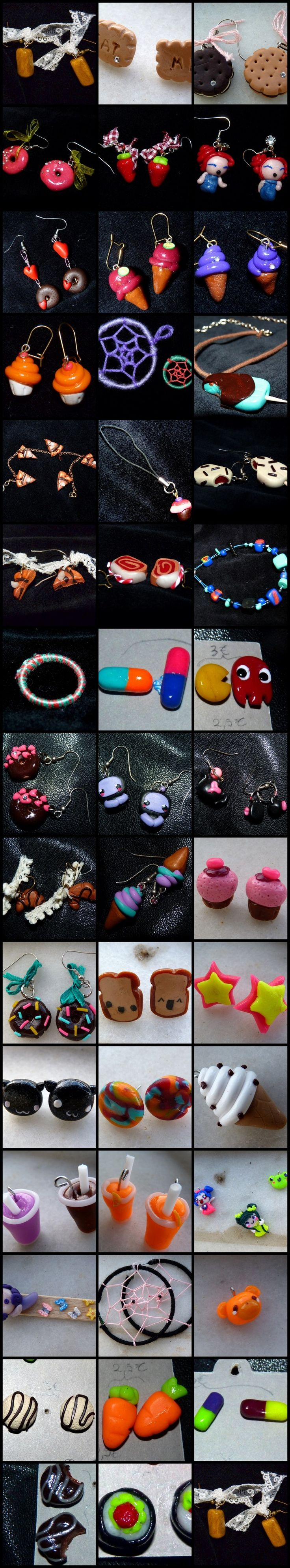 fimo jewelry - crafting with A