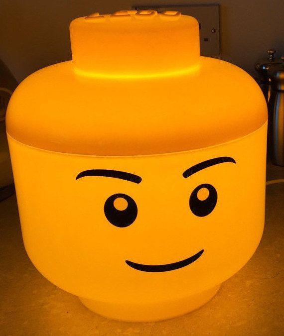 Lampe LED Lego garçon L par LightsInStuff sur Etsy
