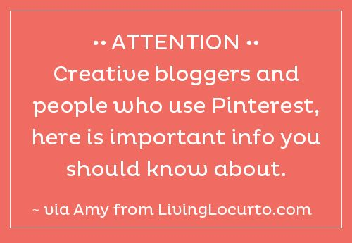 I hope you'll read this info about #pinterest. Thanks!: Food For Thought, Pinterest Info, Dear Pinterest, Blog Posts, Pinterest User, Dr. Who, Credit, Photo, Creative Bloggers