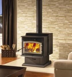 Wood Burning Stove Rustic Fire Places 57+ Ideas