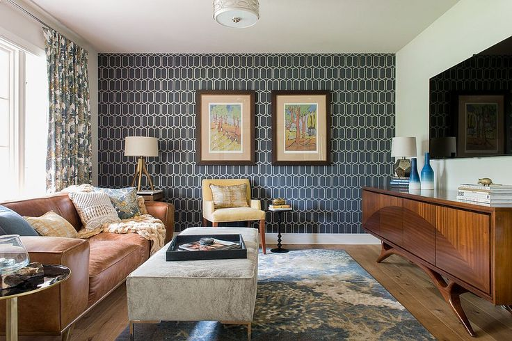 Mid-century modern style  - The Design Anatomy of the Family Room
