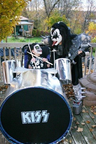 KISS Wheelchair drum kit.