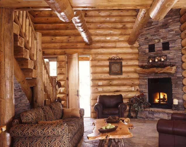 Love this #Log_Cabin