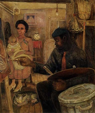 the spread of the harlem artistic At the same time, new york was experiencing the harlem renaissance, a cultural revolution of the 1920s that showcased african-american artists, musicians and writers, including web dubois, langston hughes, alain locke, aaron douglas, and louis armstrong.