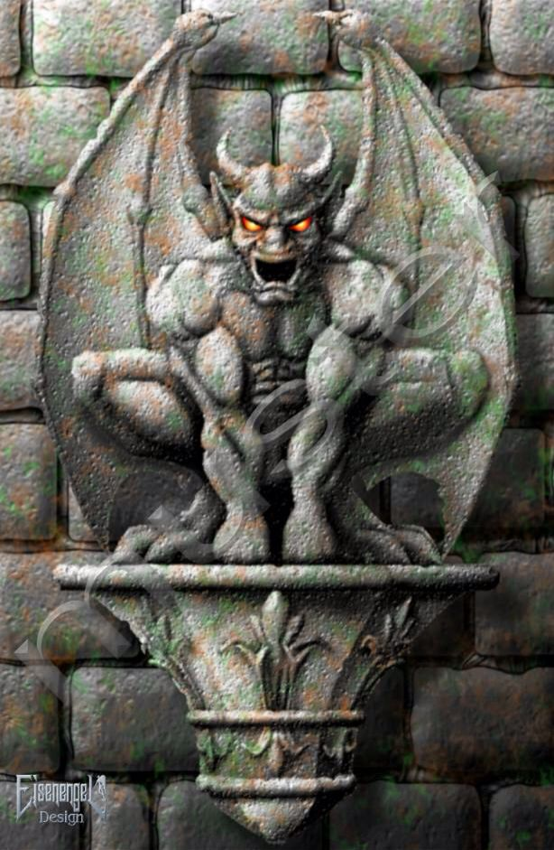 Gargoyle tattoo idea