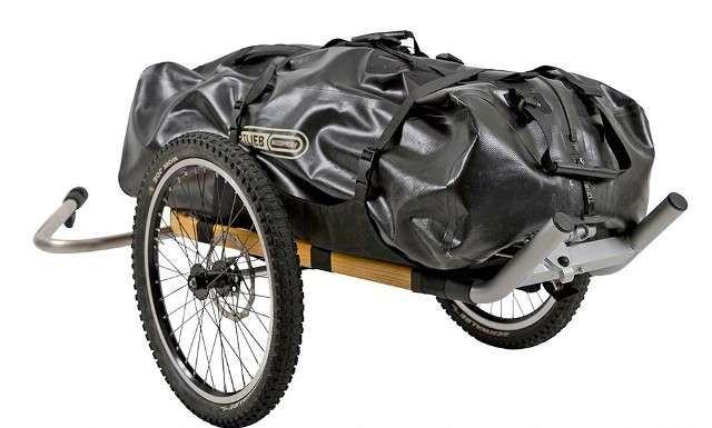 Cross-Country Rickshaws : Monowalker Hiking Trailer