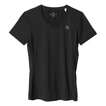 Womens Adidas Clothing - Rebel Sport - adidas Womens Gym Style Edge Tee