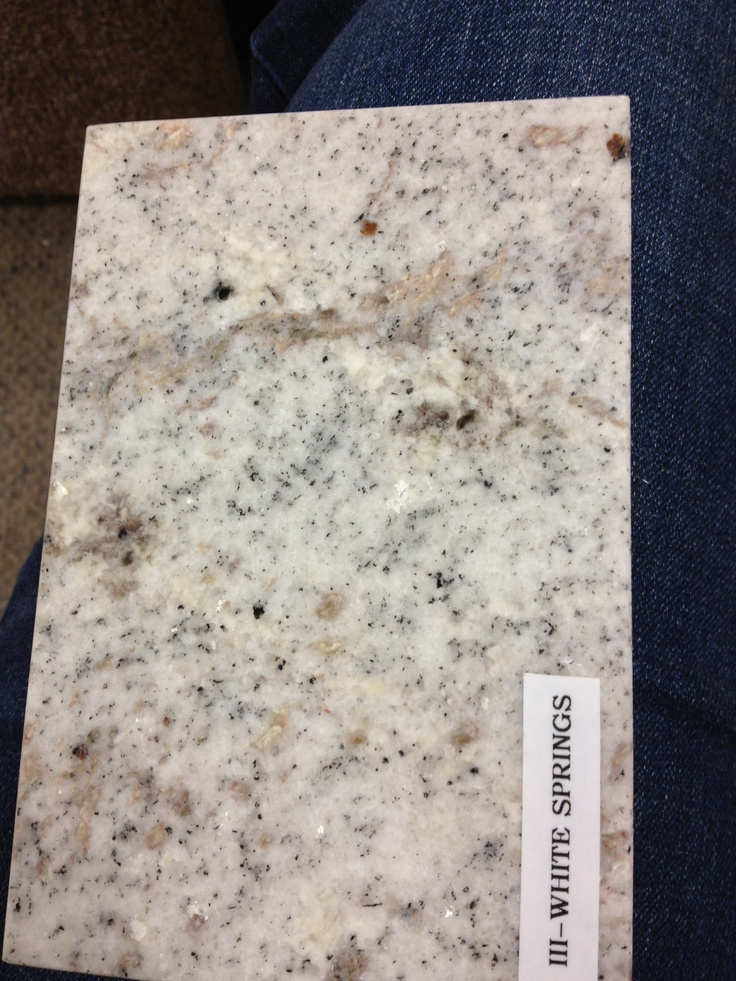11 Best Images About White Springs Granite On Pinterest