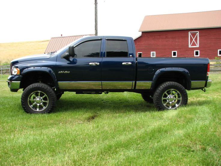lifted dodge truck | Lifted Dodge Trucks Bucket Truck
