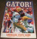 1986 UF FLORIDA GATORS / LSU LOUISIANA STATE Football OFFICIAL GAME PROGRAM - http://oddauctions.net/sports-memorabilia/1986-uf-florida-gators-lsu-louisiana-state-football-official-game-program/