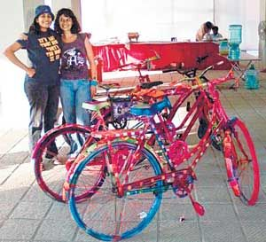 1000 Images About Hand Painted Bikes On Pinterest Best