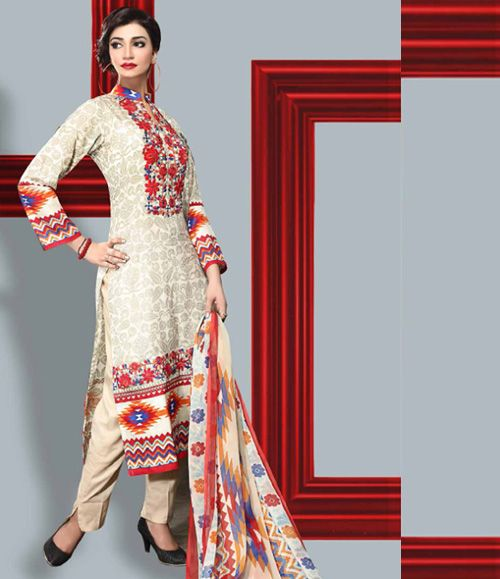 Dhanak Embroidered Lawn Collection ST_2007_A