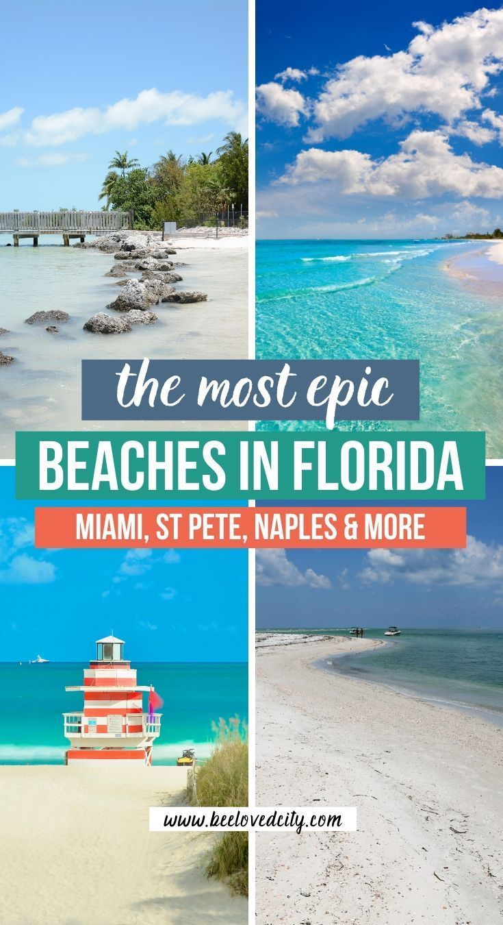 Best Beaches In Florida From Miami Beach To States Parks Beeloved City Best Beach In Florida Florida Beaches Beautiful Beaches