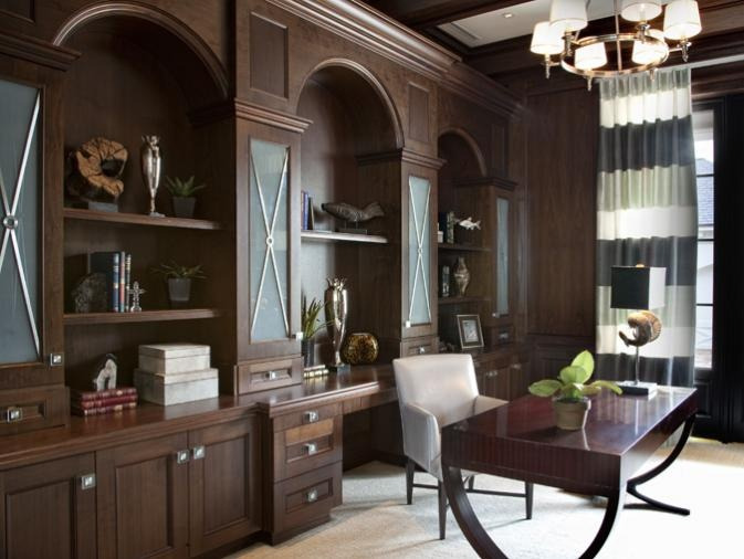 transitional home office space harrell co architects naples florida