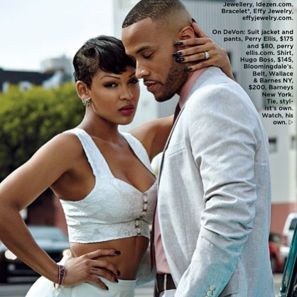 Meagan Good and Devon Franklin for Essence 2014