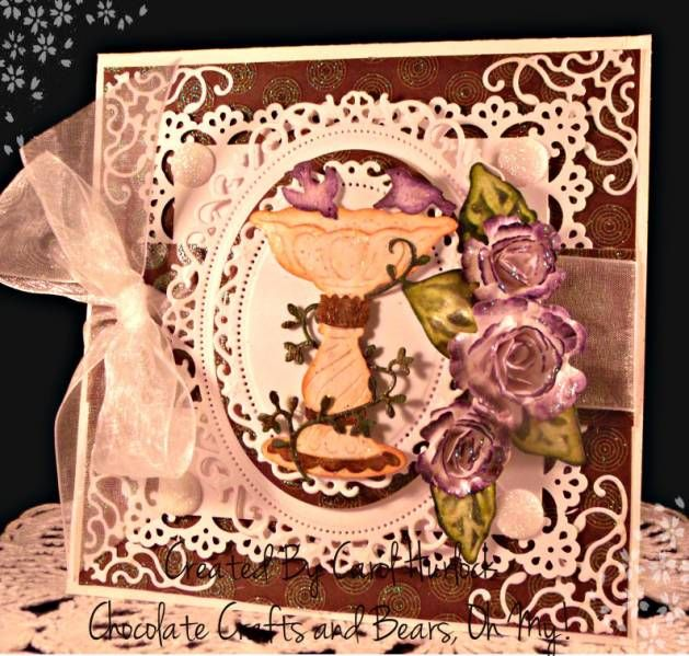 CottageCutz Victorian Bird Bath by Gingerbeary8 - Cards and Paper Crafts at Splitcoaststampers