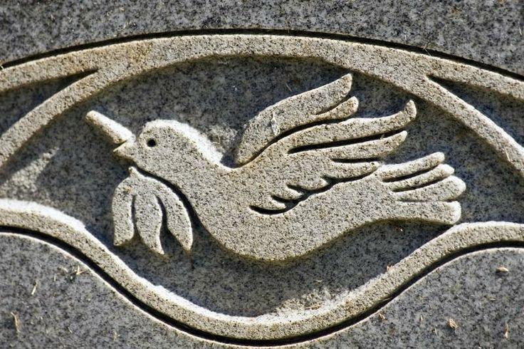 Headstone Design Ideas And Photos Lovetoknow Peace Dove Headstones Free Stock Photos Image
