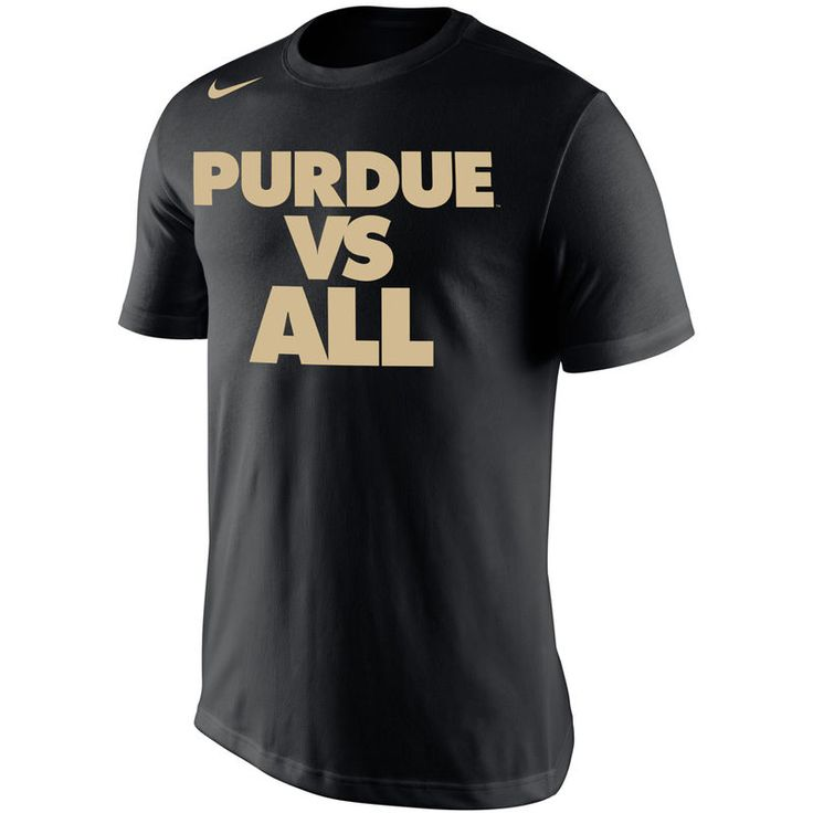 Purdue Boilermakers Nike Selection Sunday All T-Shirt - Black