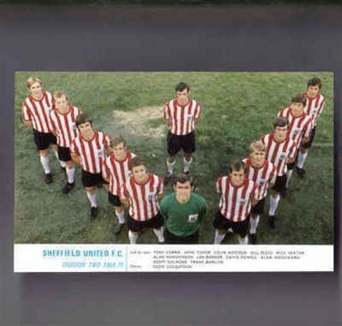 Sheffield United 1969 70 Old Memorabilia Retro Football Team Picture Poster   eBay