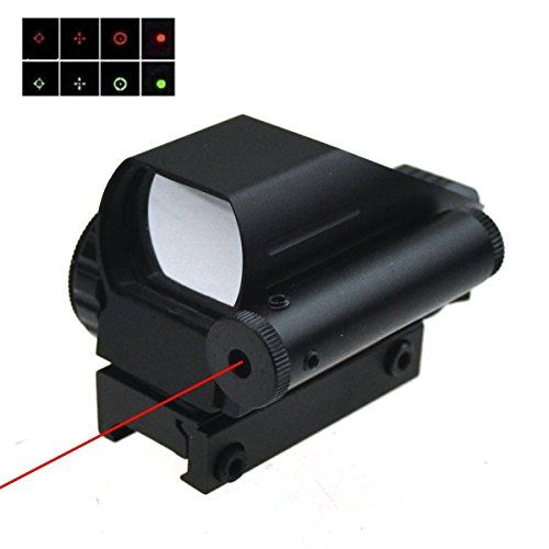TUOFENG® Holographic Red and Green Laser Sight Scope Dot Sight Tactical Reflex 4 Different Reticles Reticle Picatinny Rail for Shotgun Rifle Pistol  //Price: $ & FREE Shipping //     #sports #sport #active #fit #football #soccer #basketball #ball #gametime   #fun #game #games #crowd #fans #play #playing #player #field #green #grass #score   #goal #action #kick #throw #pass #win #winning