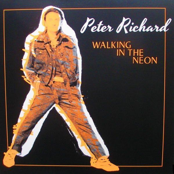 "Peter Richard - Walking In The Neon [Extended Dance Version 12''] 1986 €URO 80's ""La Radio del Ítalo Disco © 2011 - 2016 euro80s.net"