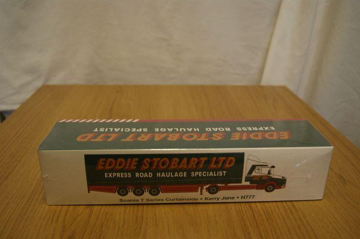 Eddie Stobart Scania T Series Curtainside Kerry Jane 1:76 scale die-cast model   eBay