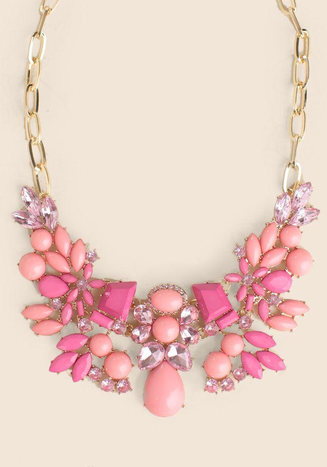 Lola Jeweled Necklace $22.99