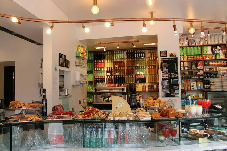 Cafe och restaurang Fratelli Gridelli på Tegnersgatan i Göteborg