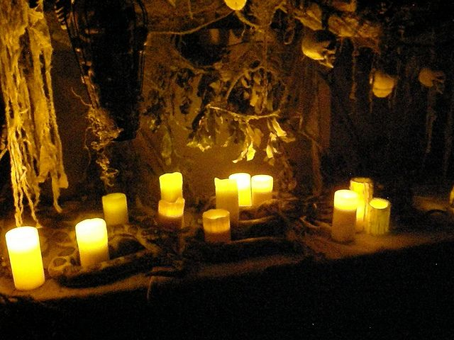 sacrifice table flickr photo sharing halloween goodieshalloween diyhalloween decorationsscenetablesnighthallows evehousewitch - Witch Halloween Decorations