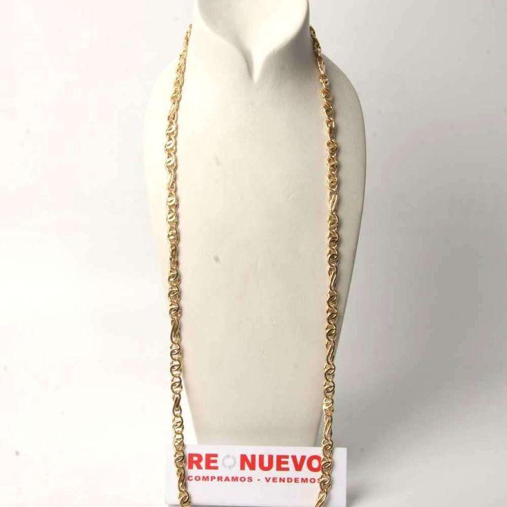 Cadena de oro de segunda mano, cómo nueva E276614A   Tienda online de segunda mano en Barcelona Re-Nuevo