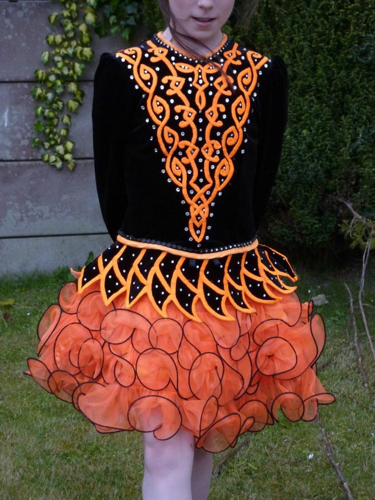 irish dance dress irish dancing solo costume fit 9 12 year old approx - Irish Dancer Halloween Costume