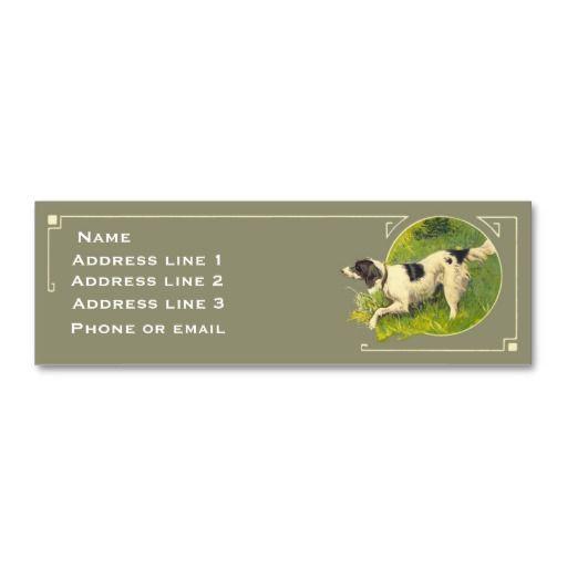 149 best hunter business cards images on pinterest business cards hunting dog business card colourmoves