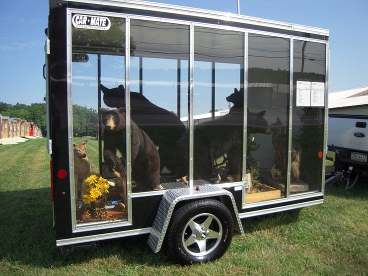 14 best images about decked out trailers on pinterest for Garden design trailer