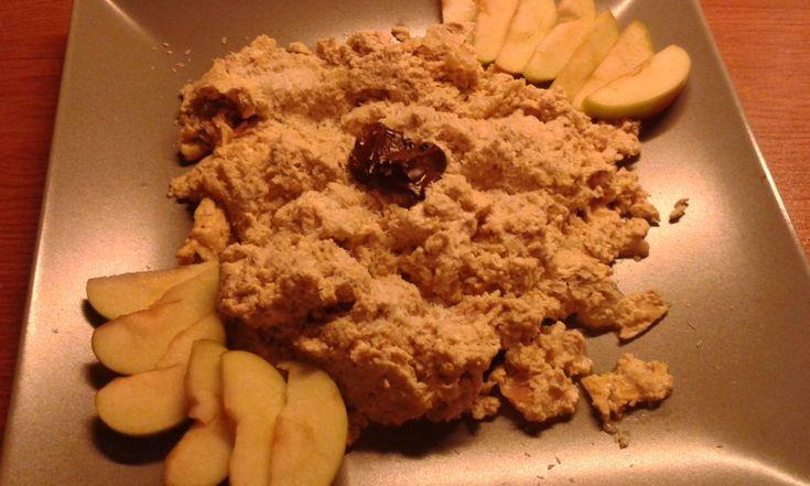 Pečený tvaroh s jablky a skořicí. Zdravá snídaně nebo zdravá večeře. Autor: Lucka