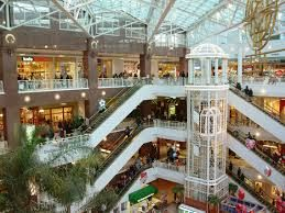 Malls are places where young adults like to hangout, so we would advertise there.