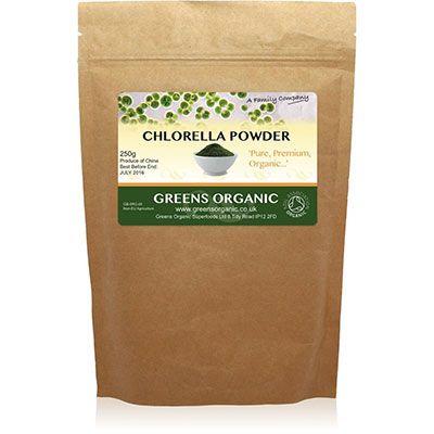 Organic cracked cell wall chlorella