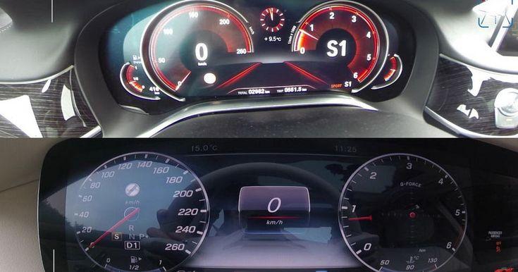 Mercedes S350d And BMW 730d Luxo-Diesel Sprint Test Reveals Similarities #BMW #BMW_7_Series