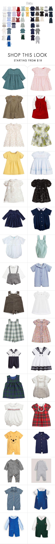 """1"" by childrens-clothes ❤ liked on Polyvore featuring Chloé, John Lewis, Fendi, Simonetta, Burberry, Luli, La Coqueta, Rachel Riley, Anavini and H&M"